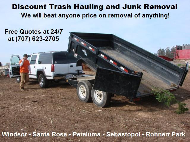 Santa Rosa Recycling Center >> Junk Hauling Santa Rosa