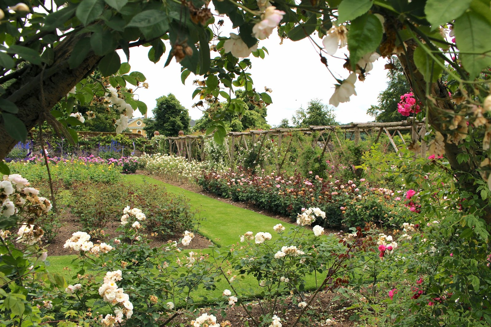 Lifestyle blogger visit to english walled gardens