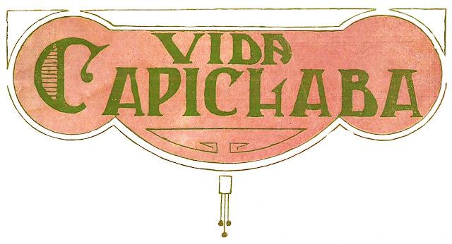 Detalhe de capa da Revista Vida Capichaba n.1.