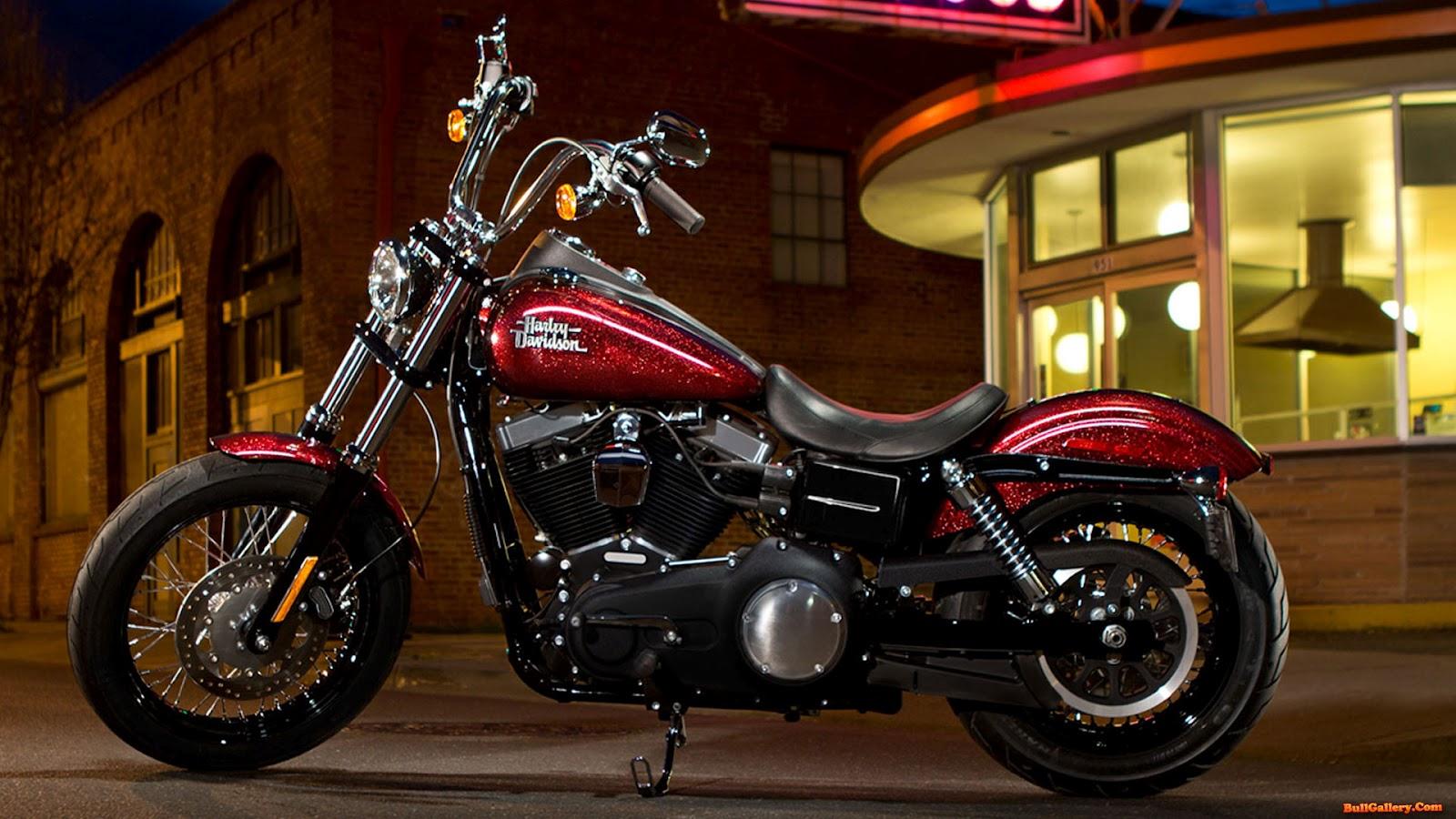 Harley Davidson Dyna Street Bob Wallpapers