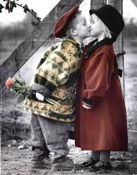 Top latest hd Baby Boy to Girl frist kiss images photos pic wallpaper free download 45