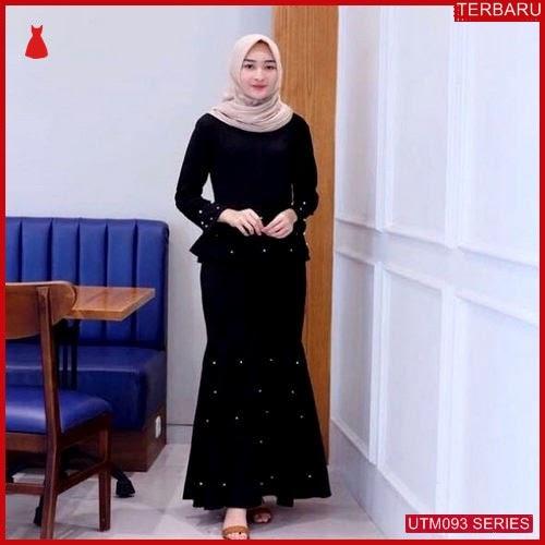 UTM093M50 Baju Mermaid Muslim Pearl Dewasa Maxi UTM093M50 05D | Terbaru BMGShop