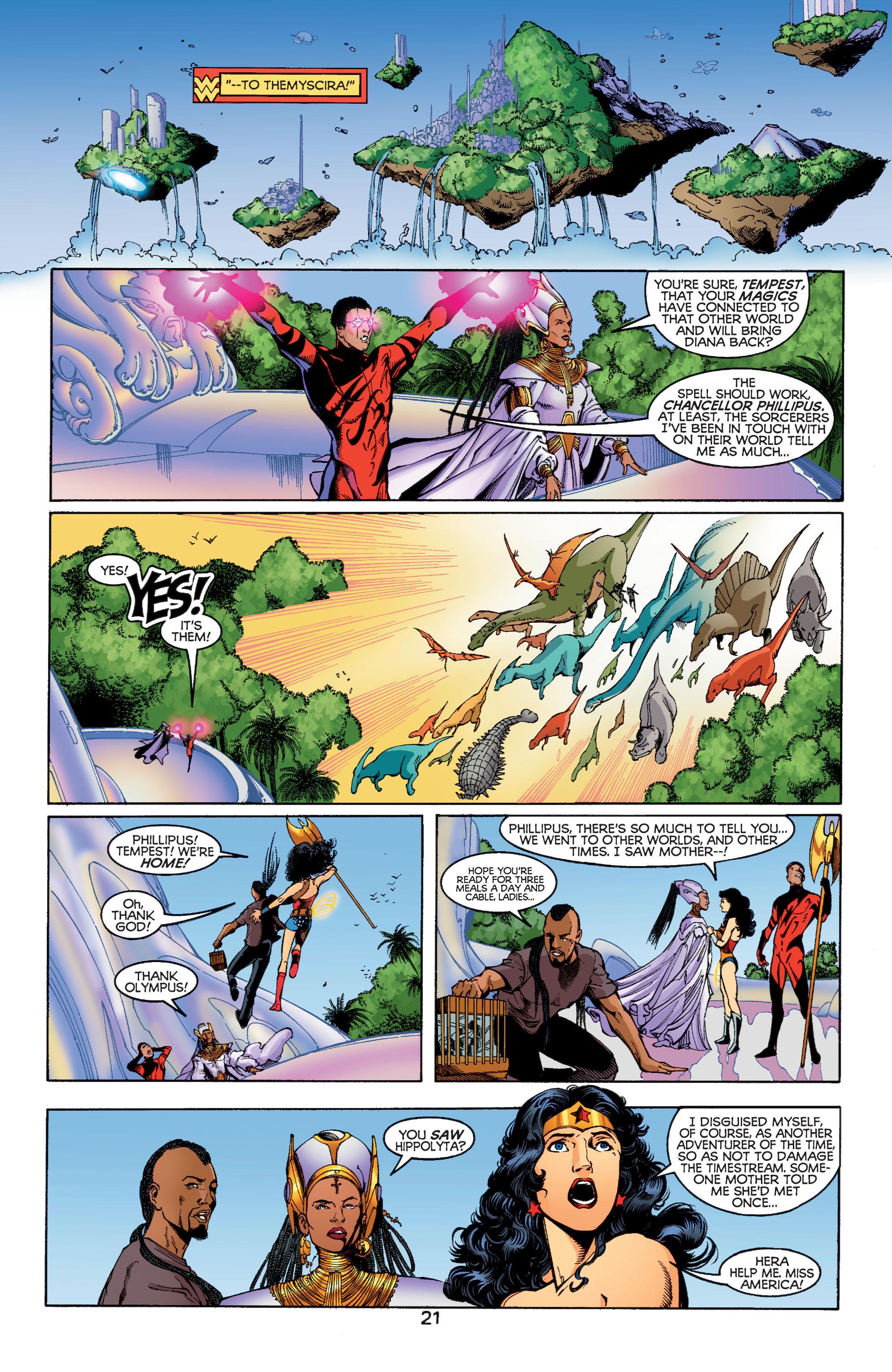 Read online Wonder Woman (1987) comic -  Issue #185 - 22