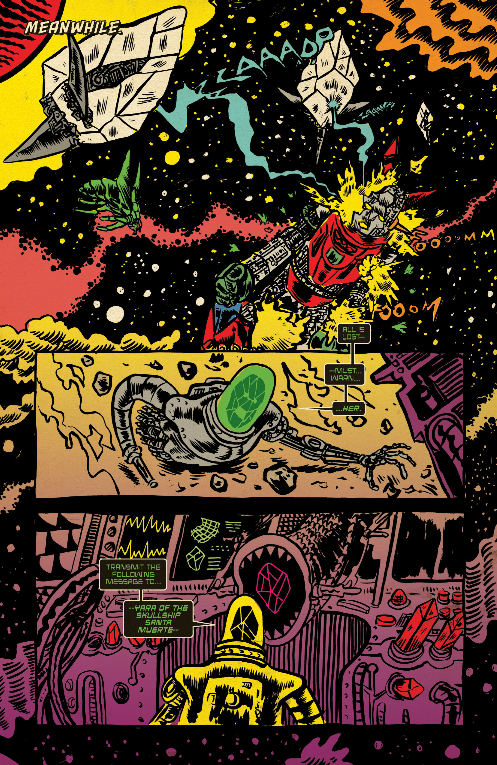 Read online Space Riders comic -  Issue #4 - 4