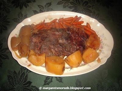 Margaret's Morsels | Slow Cooker Pot Roast