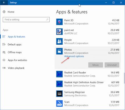 Cara uninstall add-on aplikasi di windows 10
