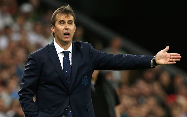 Real Madrid announce Julen Lopetegui as their new manager