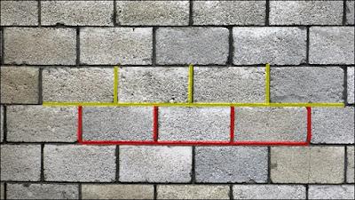 amarraçao de blocos de concreto