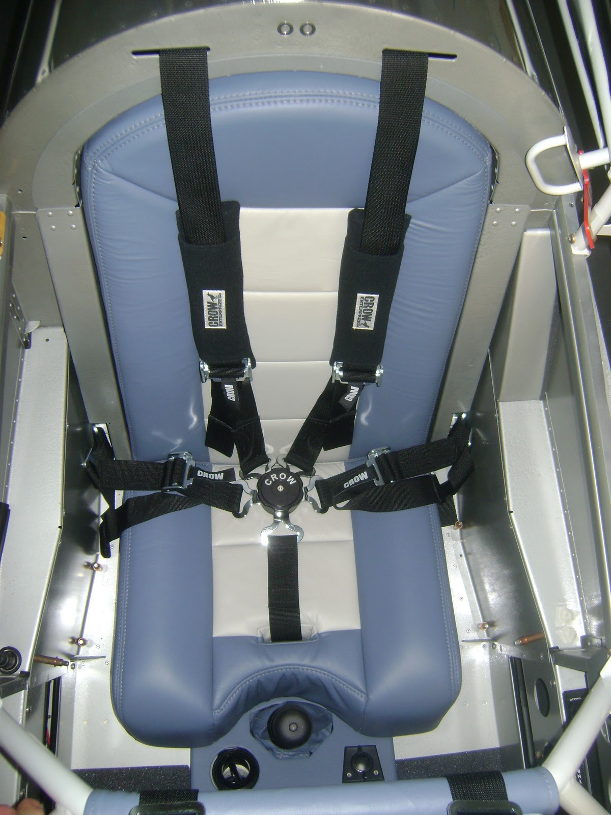 Welcome To JT's RV8 Aircraft Factory!: Custom Seats, Seat