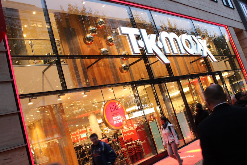 Fashion Look: Material Mix Layering Look für TK Maxx Store Opening Stuttgart