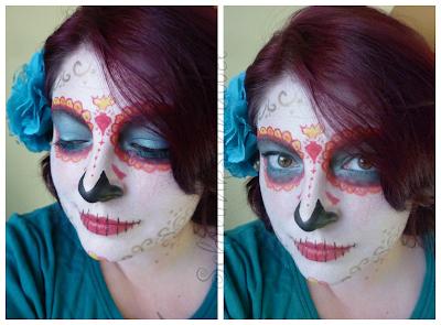 Makeup fertig Ergebnis