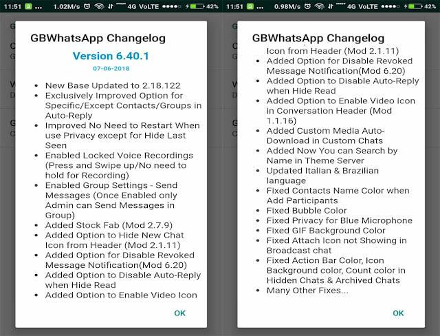 GBWhatsApp latest version
