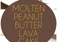 Low Carb Molten Peanut Butter Lava Cake Recipe