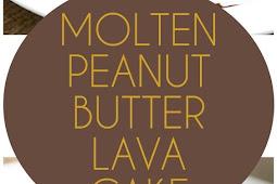 Low Carb Molten Peanut Butter Lava Cake Recipe