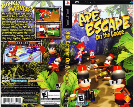 Download Games Ape Escape On The Loose ISO PPSSPP For Android