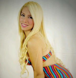 barbie del sur agredida