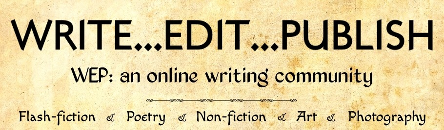 Write...Edit...Publish -- Monthly Blog Hop