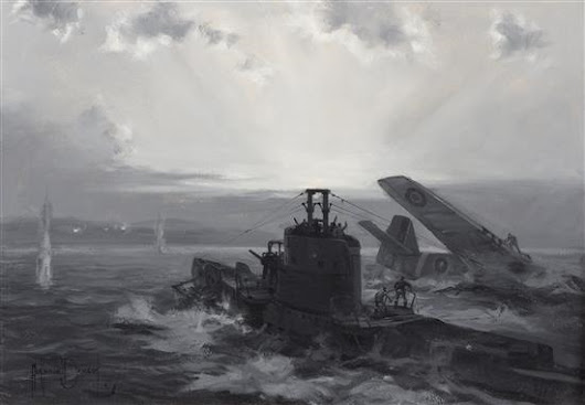 01 Classic Works of Art, Marine Paintings - With Footnotes, #40c