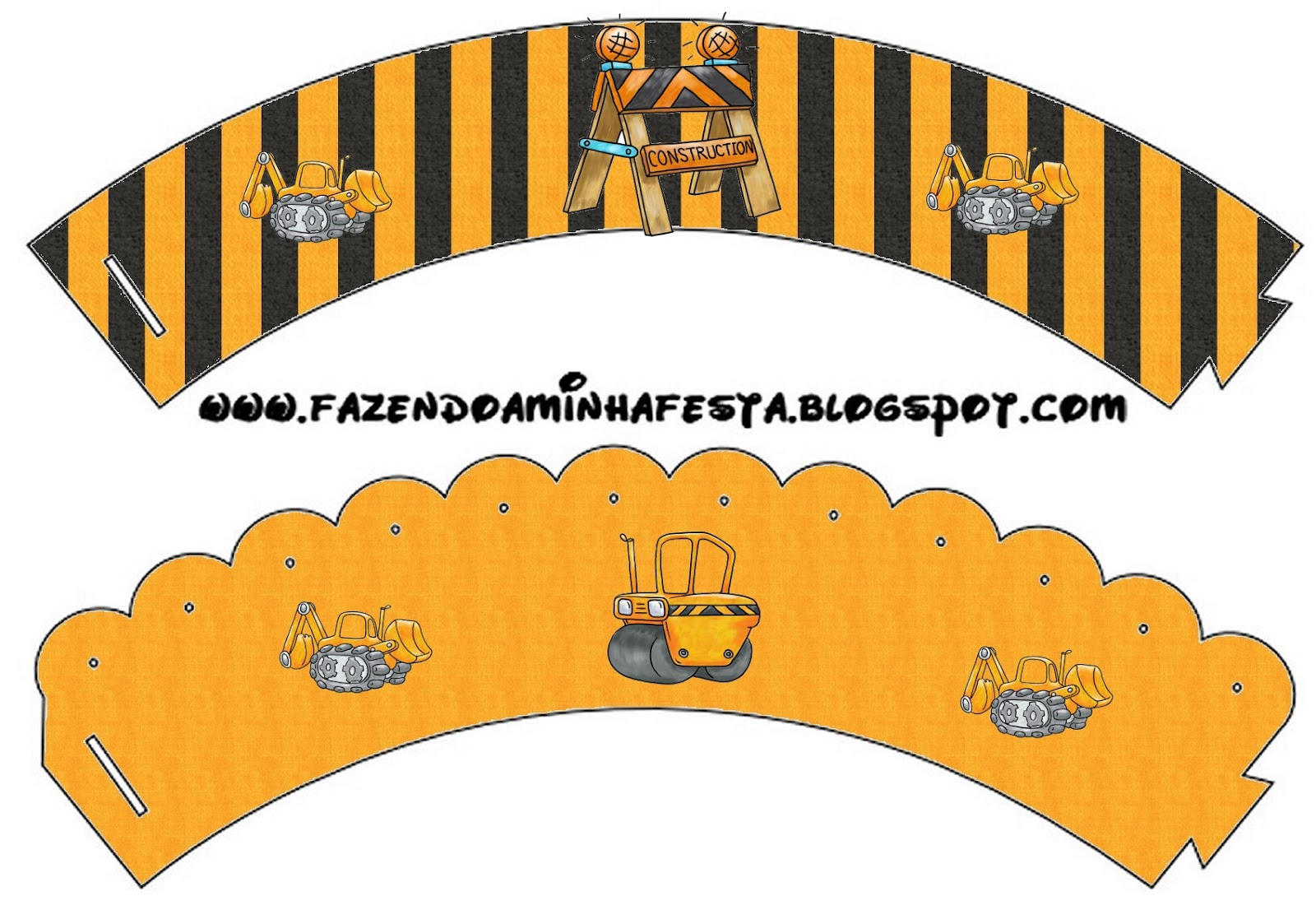 Construction Themed Party Free Party Printables Oh My Fiesta In English