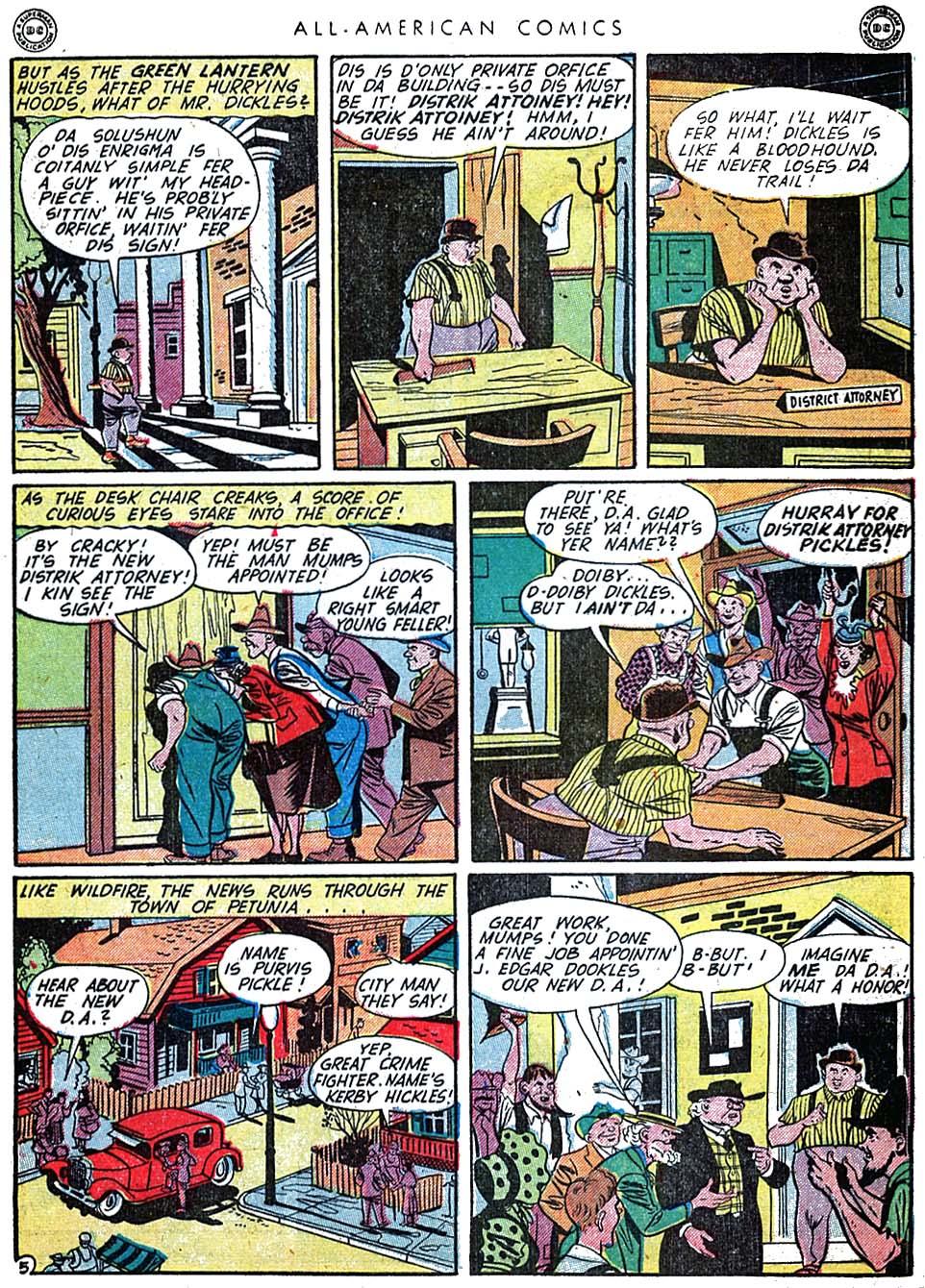 Read online All-American Comics (1939) comic -  Issue #62 - 7