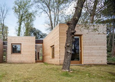 บ้านไม้ประหยัดพลังงาน