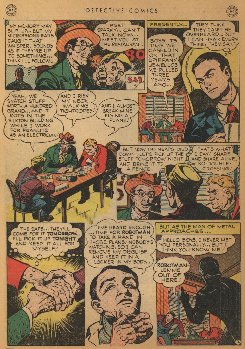 Read online Detective Comics (1937) comic -  Issue #152 - 18