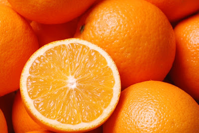 oranges balance electrolytes in summer