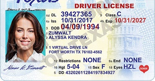 travel to wellness: how to apply for a new texas driver license?