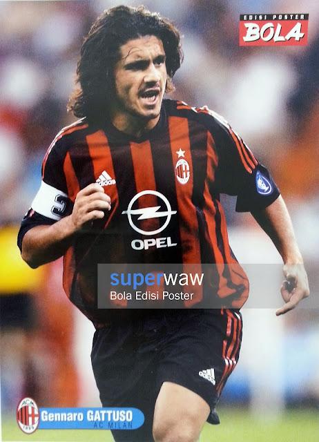 Poster Gennaro Gattuso (AC Milan)