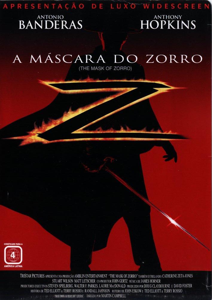 A Máscara do Zorro Torrent – Blu-ray Rip 720p e 1080p Dual Áudio (1998)
