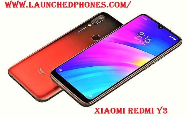 Xiaomi Redmi Y3 launch date