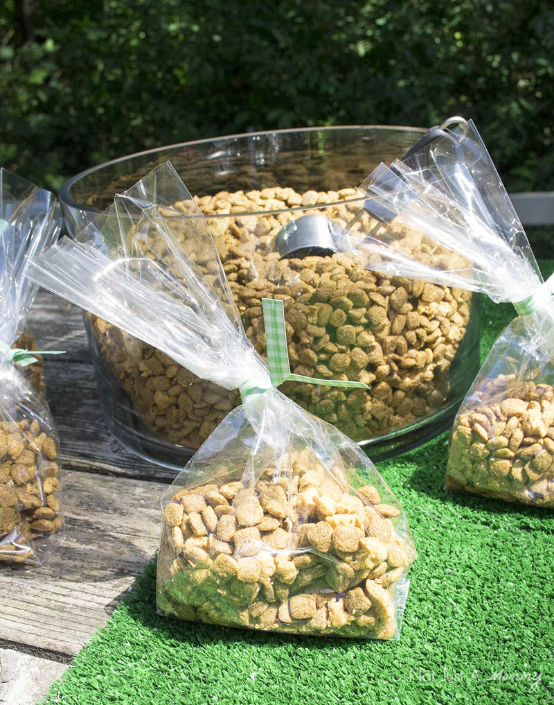 10 Tips For Hosting Your Dog's Barkday Party; doggy treats