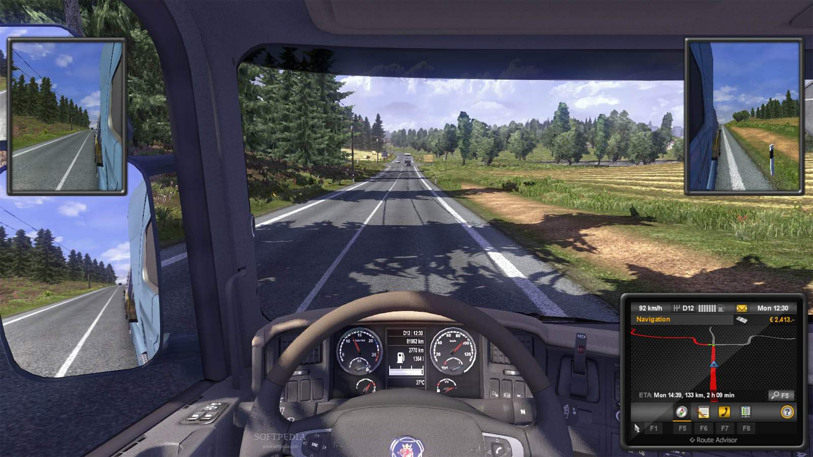 تحميل لعبة Euro Truck Simulator 2 مضغوطة كاملة بروابط مباشرة مجانا