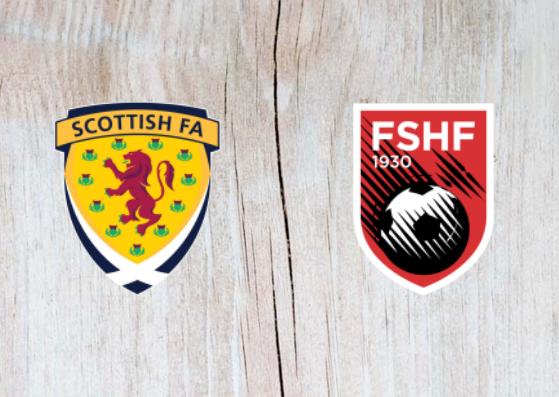 Scotland vs Albania Full Match & Highlights 10 September 2018