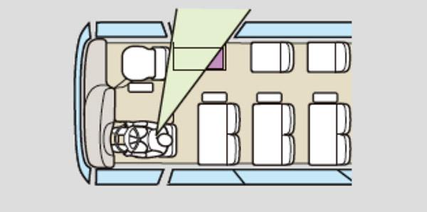 Cách bố trí cửa ghế của xe khách thaco fuso