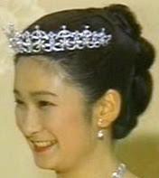 Kiko Princess Akishino Japan Diamond Tiara Mikimoto