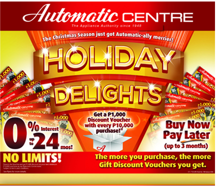 Automatic Centre: Holiday Delights Christmas Season