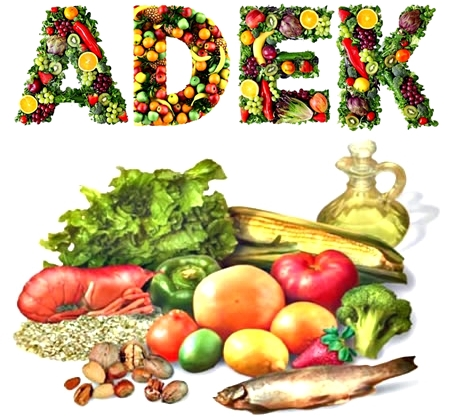 Fuentes alimenticias de las vitaminas hidrosolubles y liposolubles