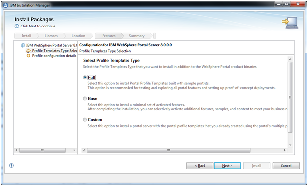 Notes for Programmers: How to Install WebSphere Portal v8 ?