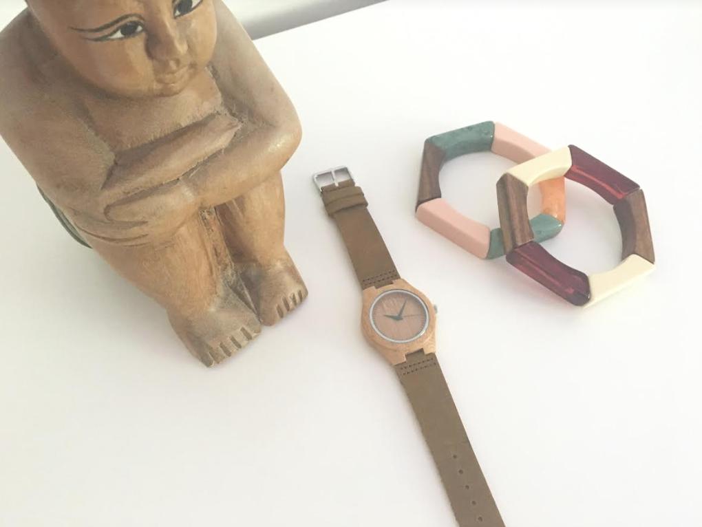 Unique Gift Idea: Engraved Wooden Watch