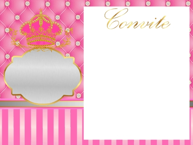 Sweet 16 Golden Crown in Pink and Diamonds Free Printable – Free Printable Sweet 16 Birthday Invitations