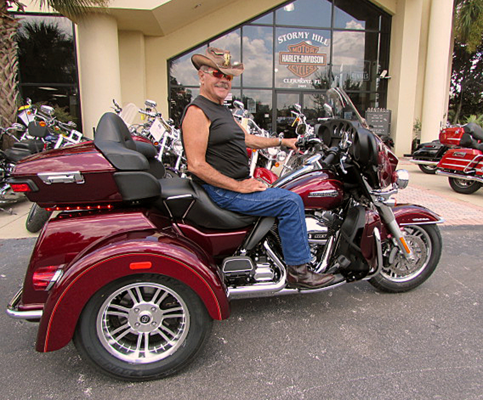 2016 Harley Davidson Tri Glide Trike Three Wheeler For: The View From Stormy Hill: Some Happy 2016 Harley-Davidson
