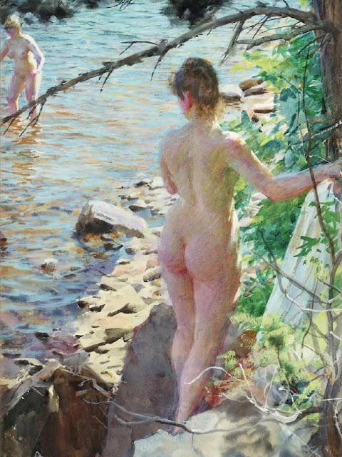 Johan Krouthén,  Il nude in arte, Artistic Nude