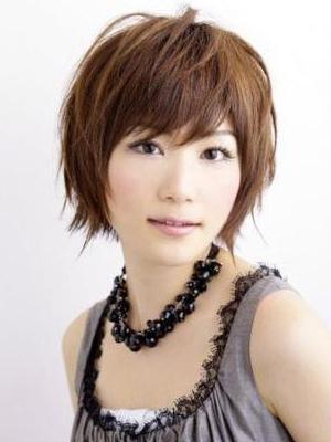ponytail hairstyles 2012 cute  kawaii female short hair