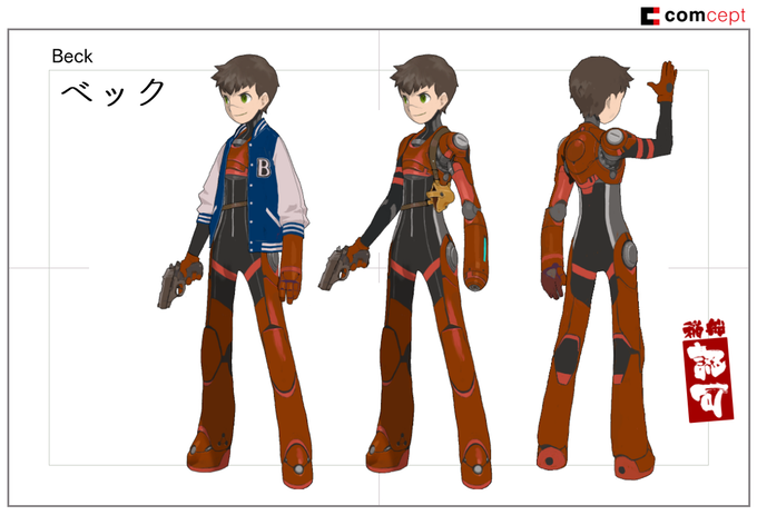 Rockman Corner: Red Ash - Game & Anime Revealed, Two Kickstarters