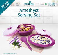 Dusdusan Amethyst Serving Set ANDHIMIND