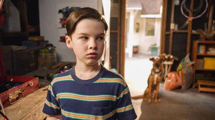 Young Sheldon - Episode 1.20 - A Dog, a Squirrel, and a Fish Named Fish - Promotional Photos + Press Release