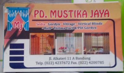 Suplier Gorden Bandung