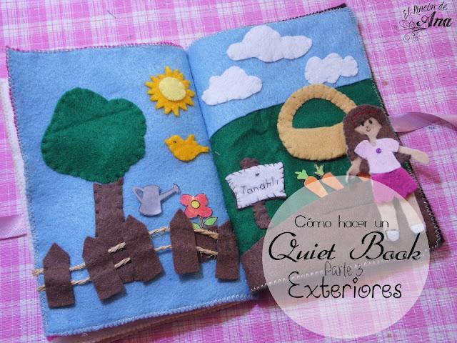 Cómo hacer un Quiet Book (Tercera Parte)