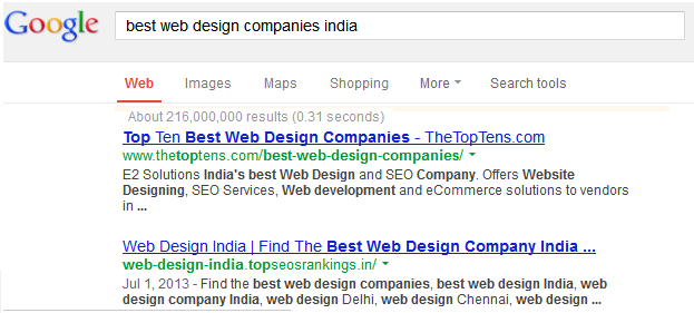 World S Top Design Development Companies 2013 Top 10 Best Web Design Companies India